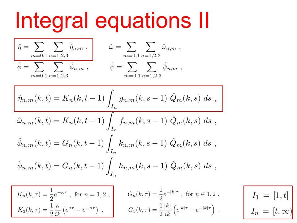 Integral equations II
