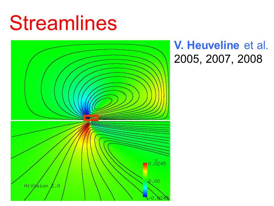 Streamlines V. Heuveline et al. 2005, 2007, 2008