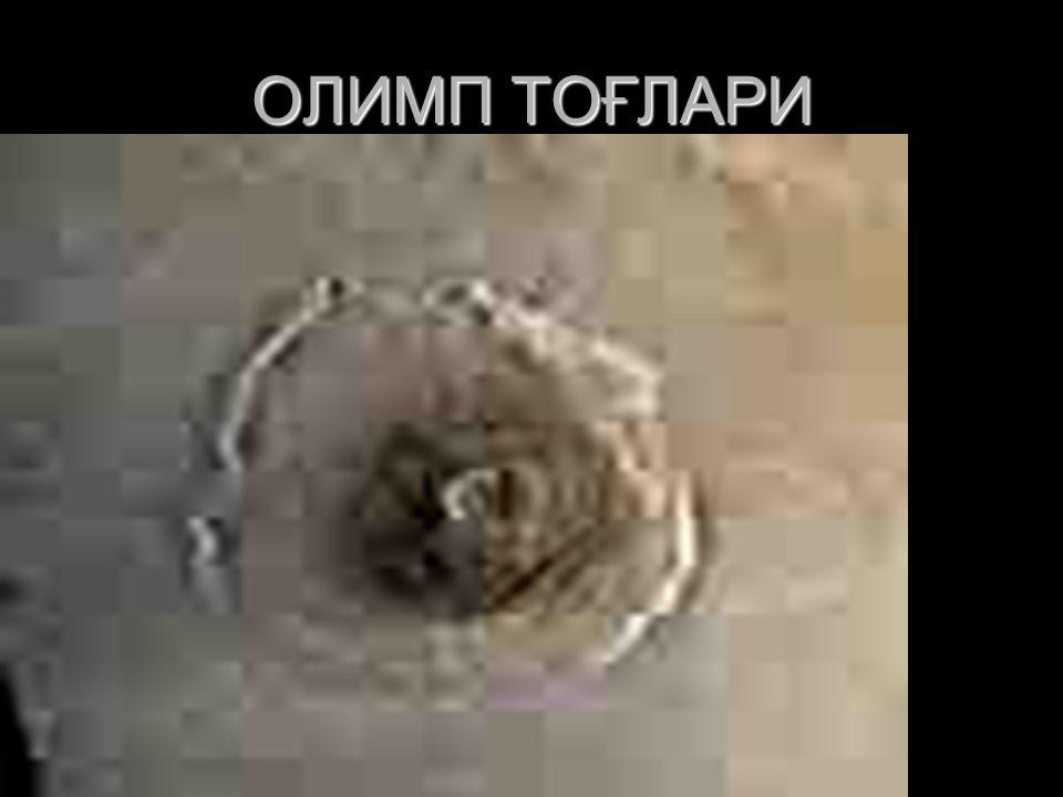 ОЛИМП ТОҒЛАРИ