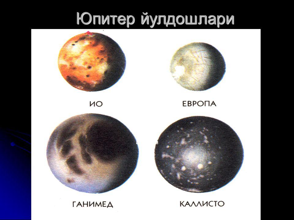 Юпитер йулдошлари Юпитер йулдошлари 80-расм