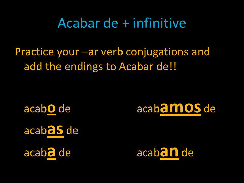 Tener que + infinitive What does tener que mean.