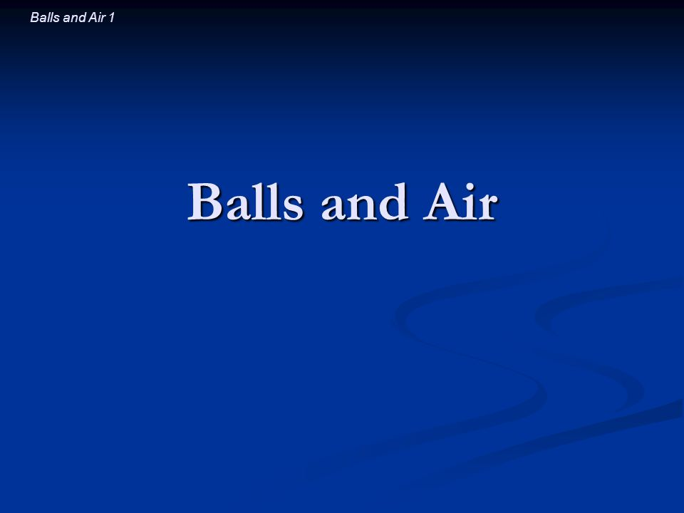 Balls and Air 2 Introductory Question You give a left (clockwise) spin to a football.