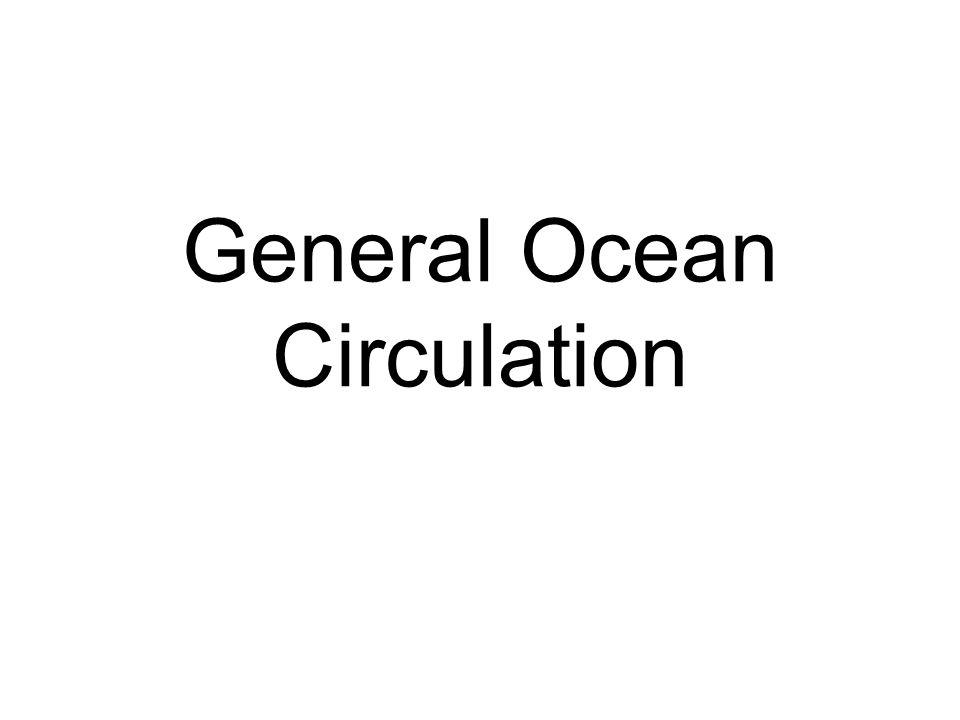General Ocean Circulation