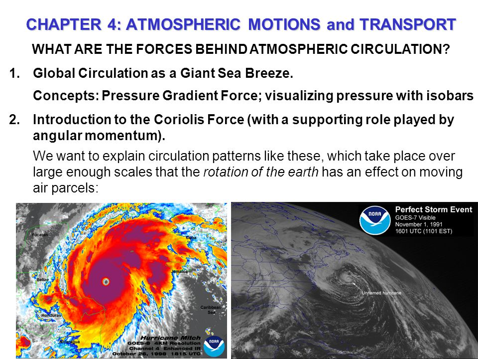 WHAT ARE THE FORCES BEHIND ATMOSPHERIC CIRCULATION.
