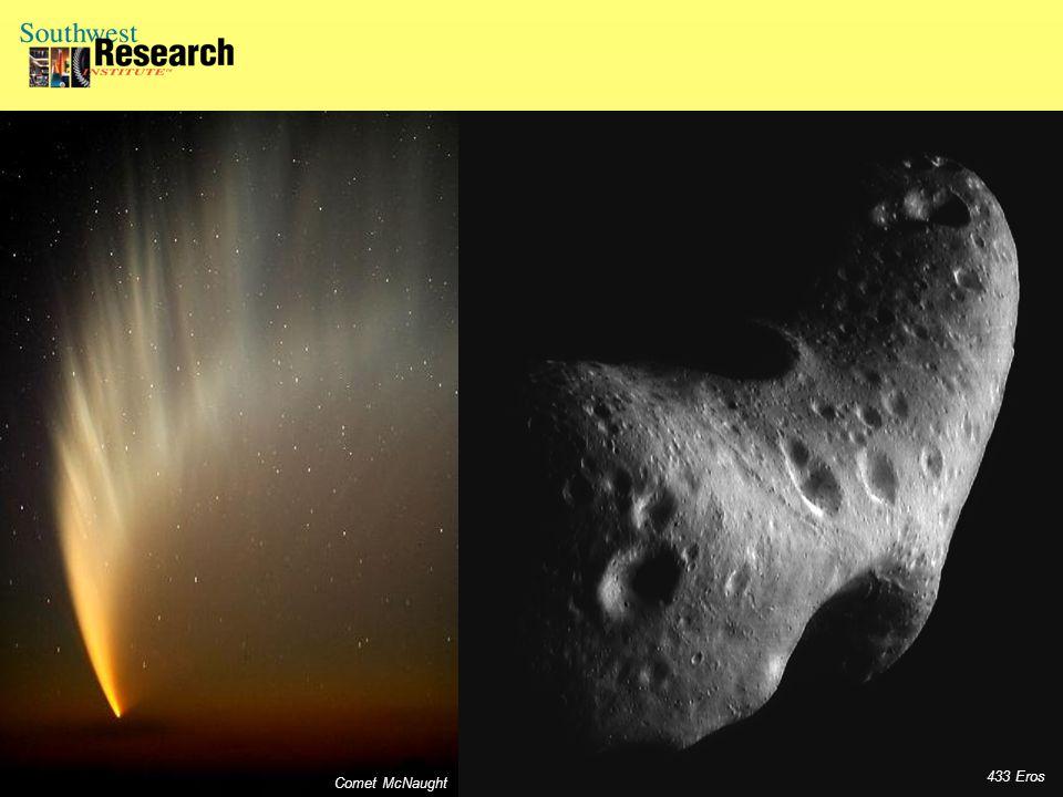433 Eros Comet McNaught