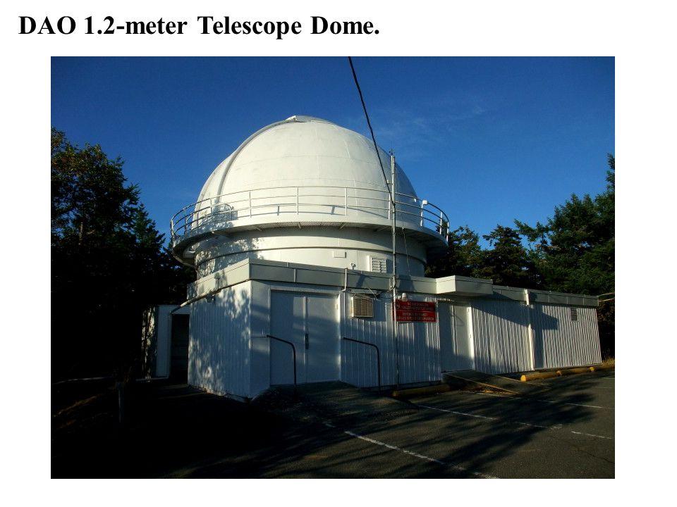DAO 1.2-meter Telescope Dome.
