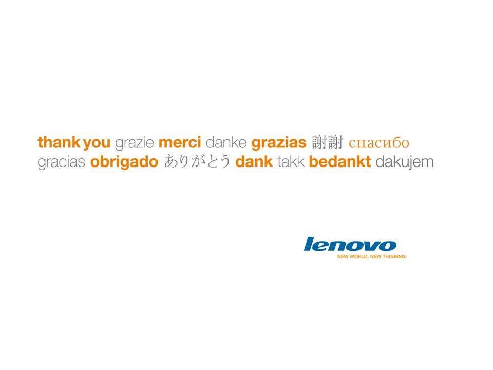 Lenovo Confidential Lenovo Confidential Lenovo Confidential Lenovo Confidential Lenovo Confidential Page 119 | © 2010 Lenovo