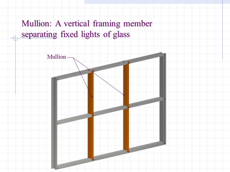 Jamb: The vertical frame member forming the side of an opening, or the side of a door Jamb