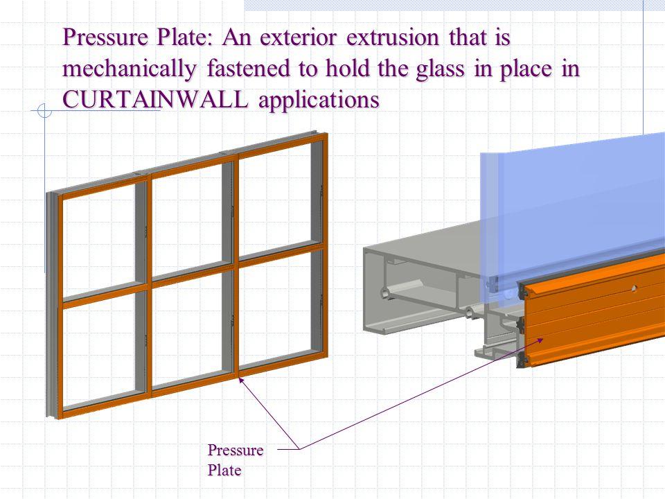 Intermediate Horizontal: The horizontal member used between two lites of glass IntermediateHorizontal