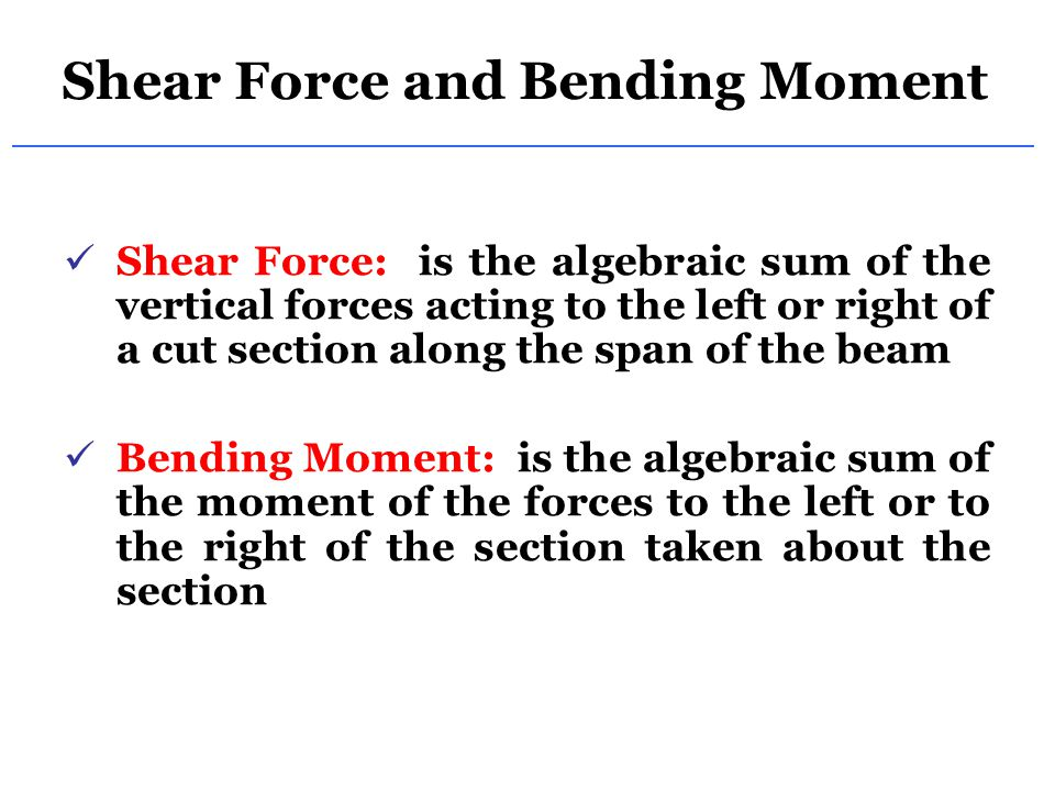 Stress Due to Bending For a linearly elastic material, For a linearly elastic material, For static equilibrium, For static equilibrium, First moment with respect to neutral plane (z-axis) is zero.