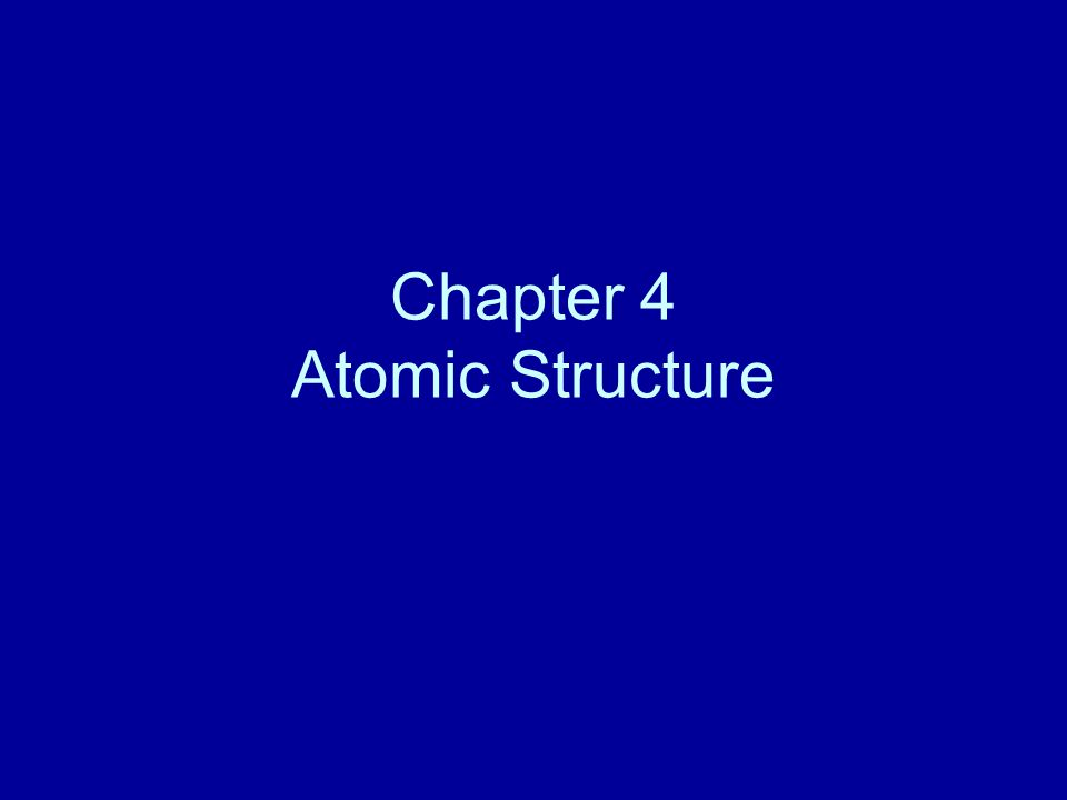 Section 4.1 Studying Atoms