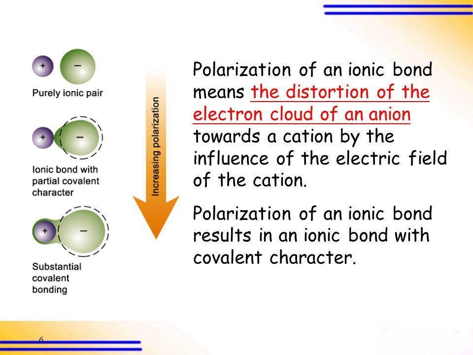 57 Q.53 83.980.182.279.3 % ionic character 6.32710.2698.5939.001 Dipole moment( D) 1.5702.6712.1762.365 Bond length(Å) LiFKClKFNaClMolecule Electronic charge, e  1.602  10  19 Coulomb
