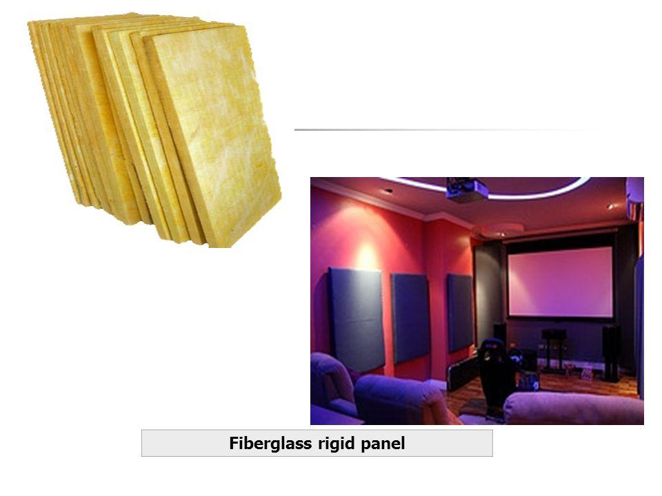 Fiberglass rigid panel