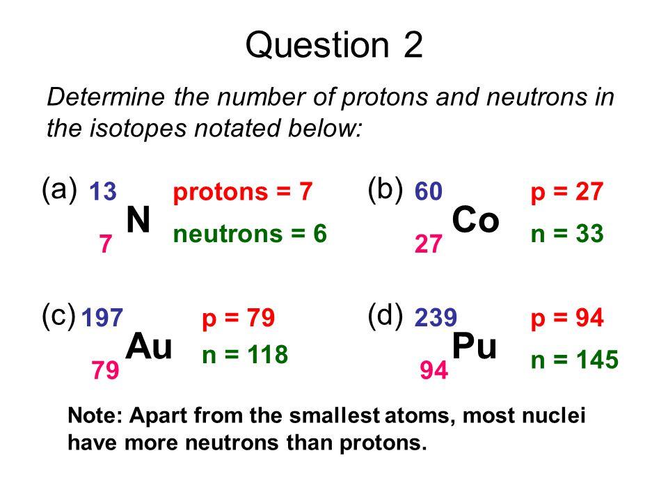 Example: The decay of Uranium 238 U 238 92 Th 234 90 α 4 2 + Uranium 238 decays to Thorium 234 plus an alpha particle.
