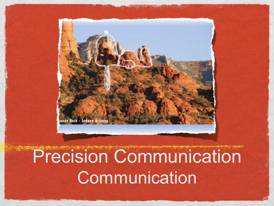 Precision Communication Communication