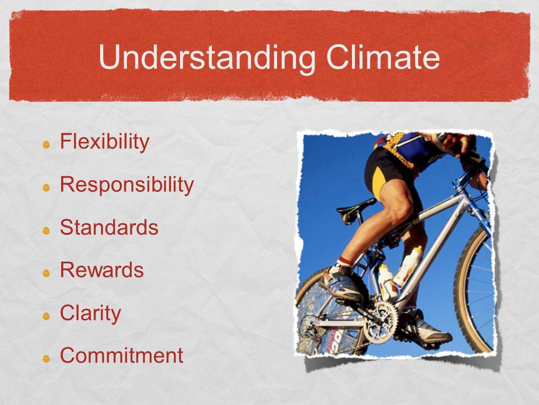 Flexibility Responsibility Standards Rewards Clarity Commitment