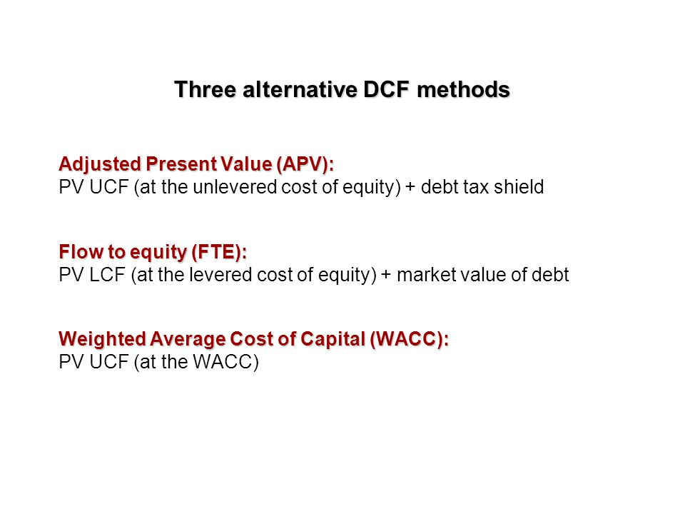 The dividend model P = D/(r-g) Can't use it with firms no dividend paying stocks You have to use CAPM in order to estimate the discount rate Formula b