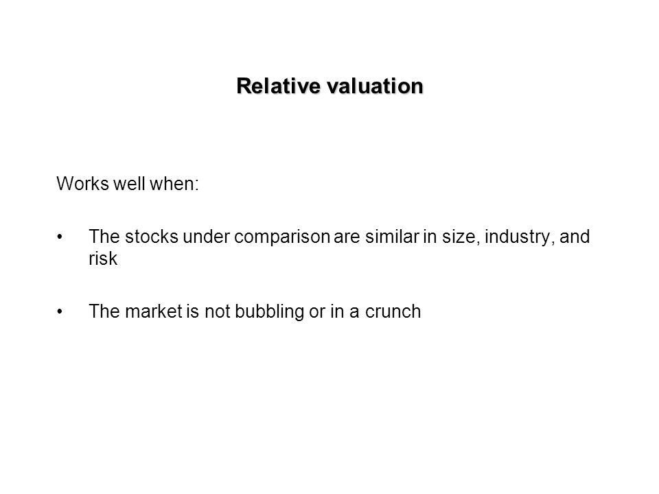 Final step: Estimating intrinsic value per share Market value of equity = Total firm value - Market value of debt Intrinsic value per share = Market value of equity/No.