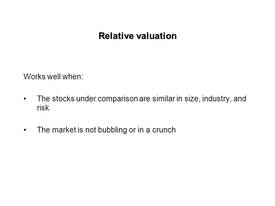 Final step: Estimating intrinsic value per share Market value of equity = Total firm value - Market value of debt Intrinsic value per share = Market v