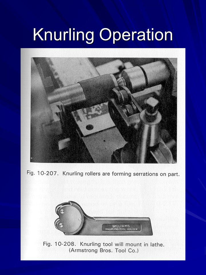 Knurling Operation