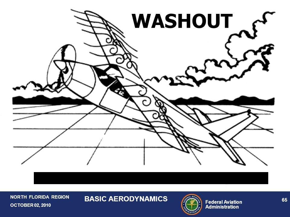 Federal Aviation Administration 65 NORTH FLORIDA REGION OCTOBER 02, 2010 BASIC AERODYNAMICS WASHOUT