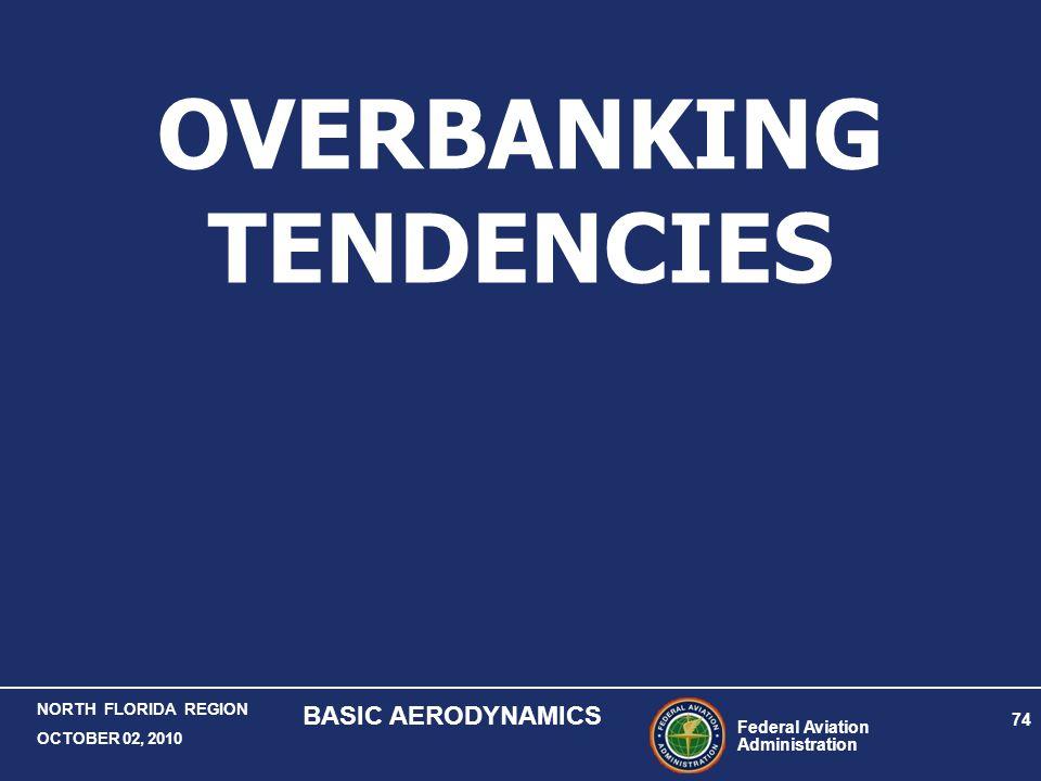 Federal Aviation Administration 74 NORTH FLORIDA REGION OCTOBER 02, 2010 BASIC AERODYNAMICS OVERBANKING TENDENCIES