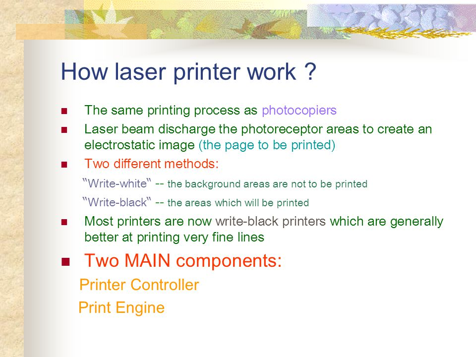 What is Laser Printer .