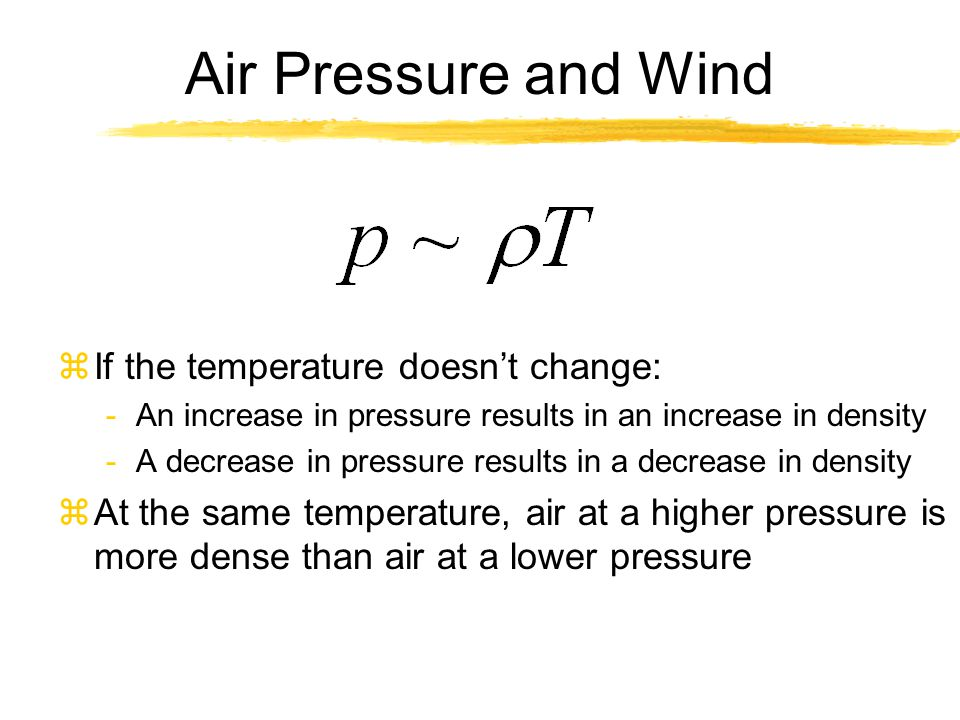 Pressure Gradient Force zWait just a second.
