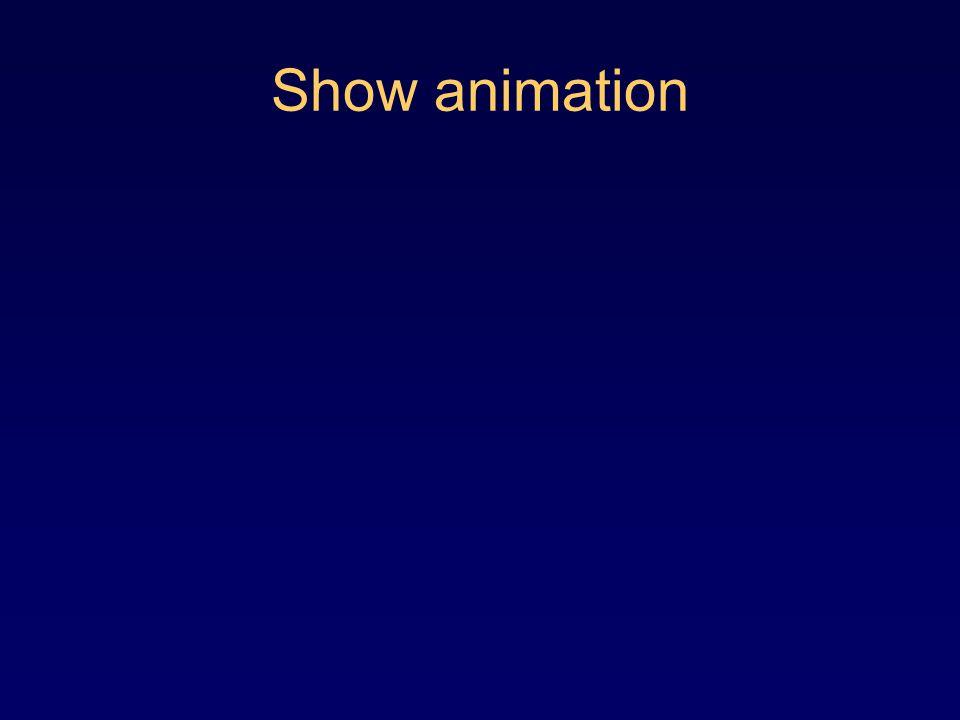 Show animation
