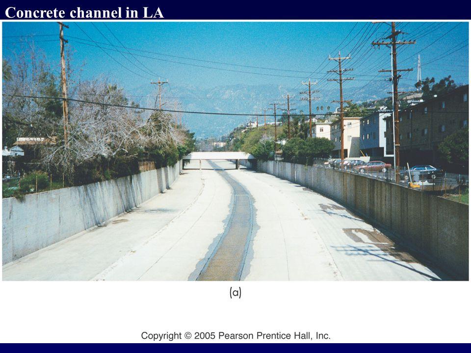 Concrete channel in LA