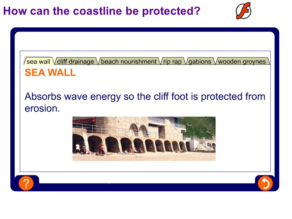 How can the coastline be protected?