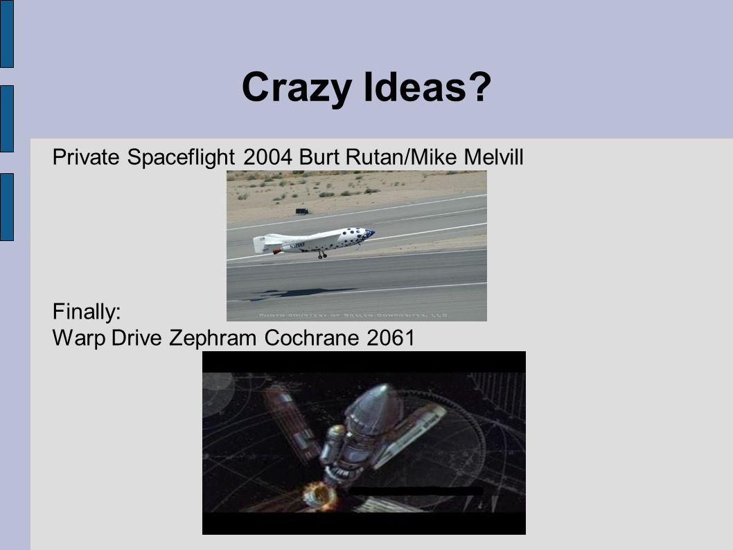 Crazy Ideas.