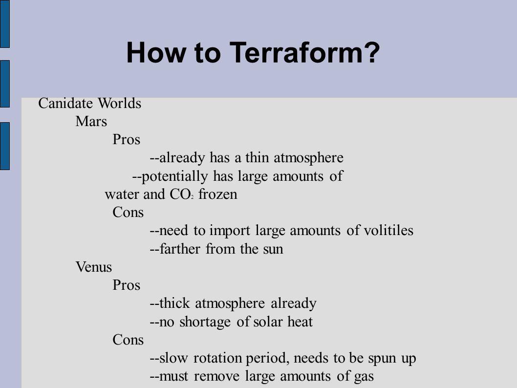 How to Terraform.