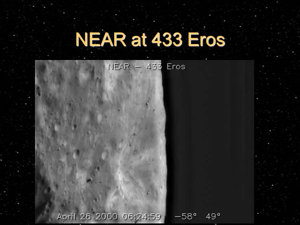 NEAR at 433 Eros