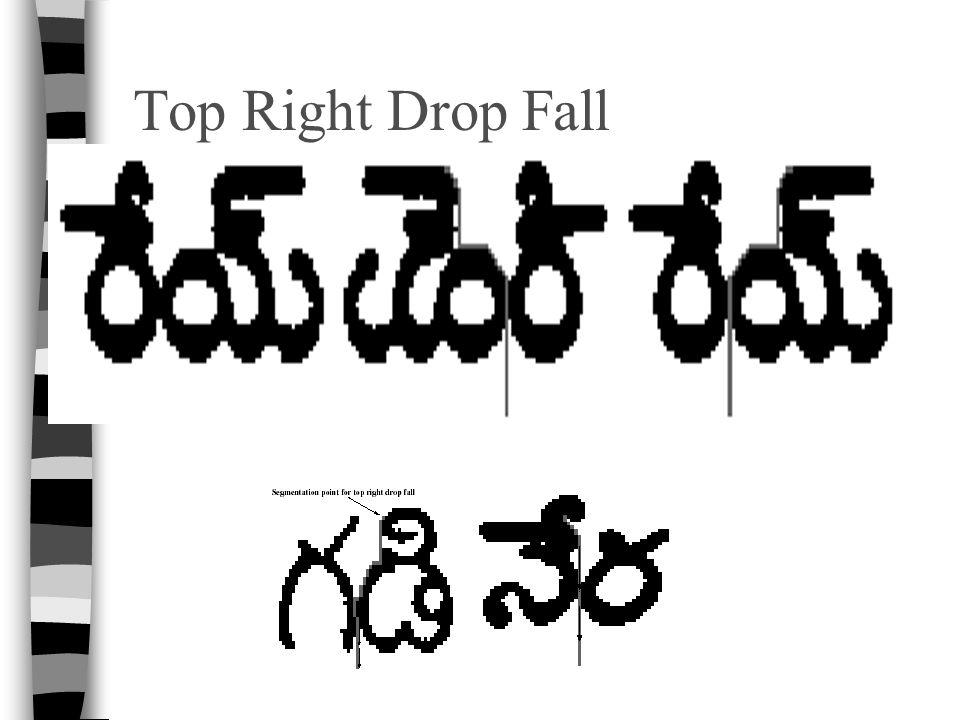 Top Right Drop Fall