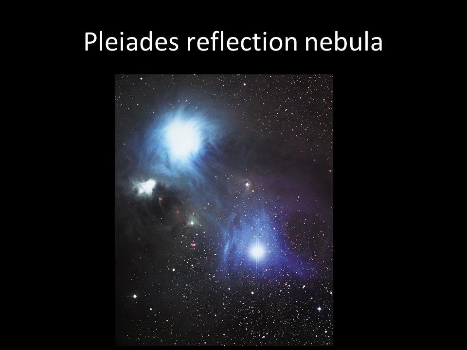 Pleiades reflection nebula