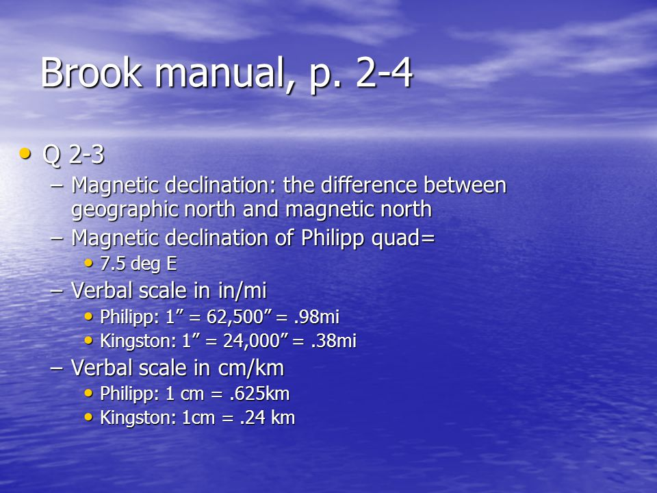 Brook manual, p.