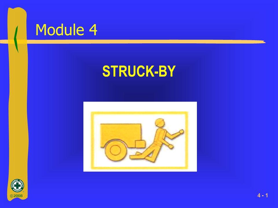 ©2008 4 - 1 Module 4 STRUCK-BY