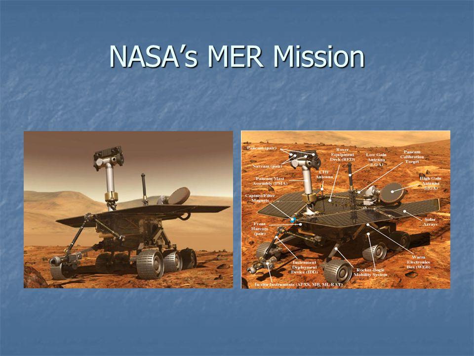 NASA's MER Mission