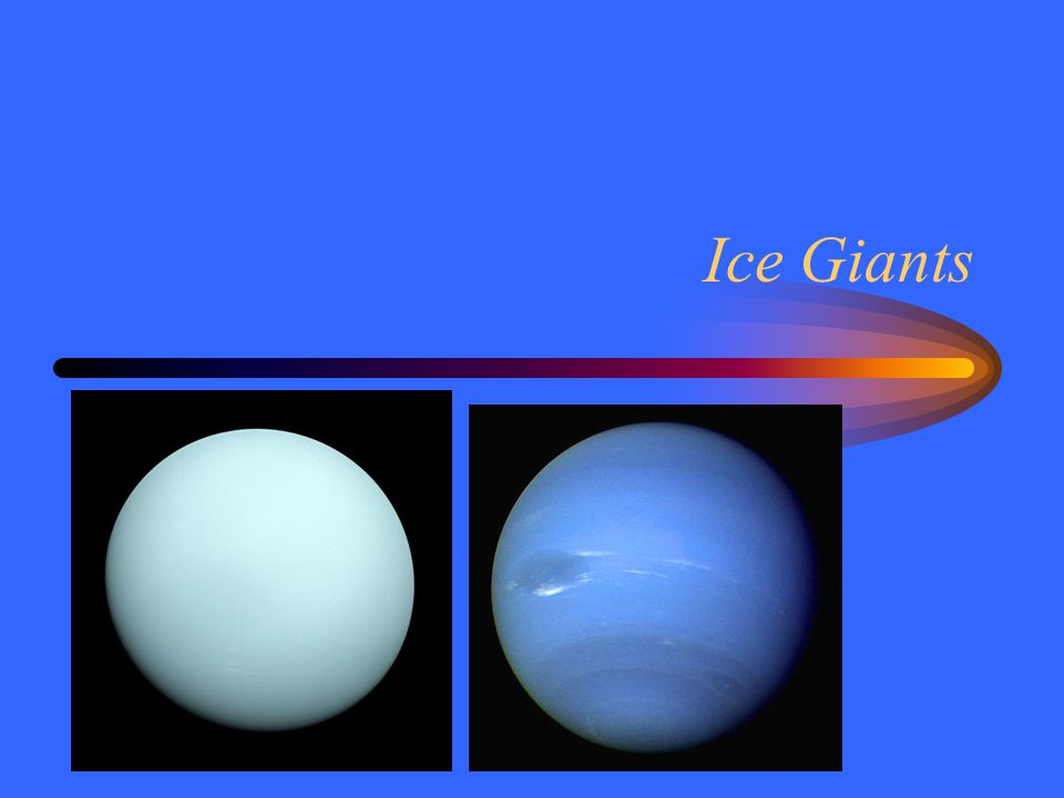 Ice Giants