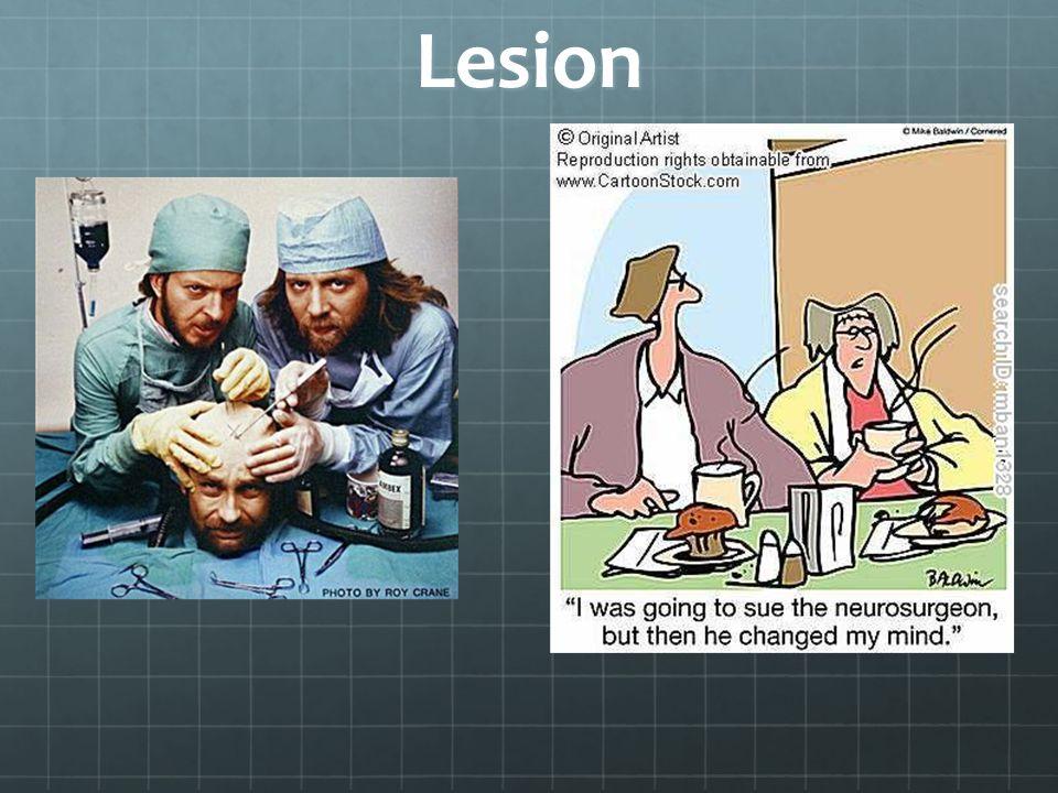Lesion