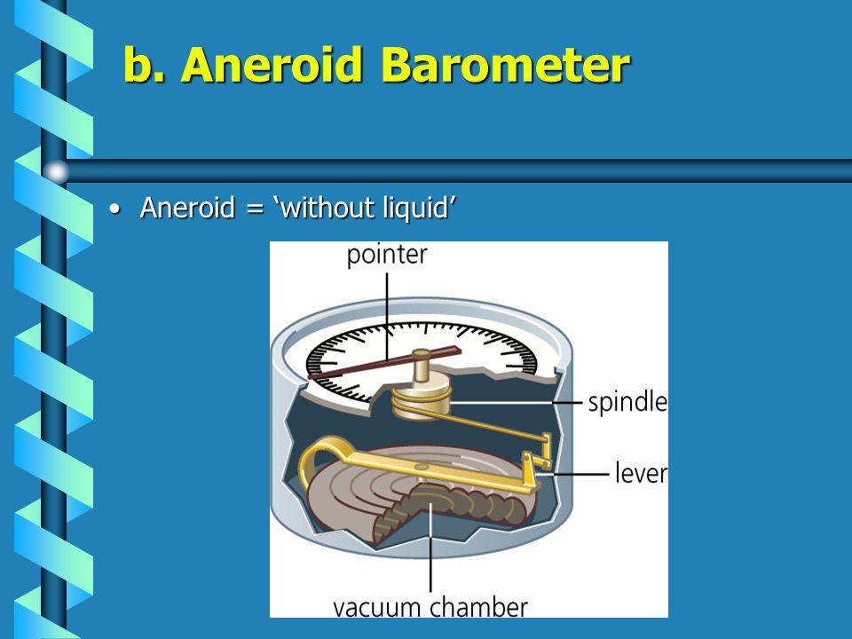 a. Mercurial Barometer