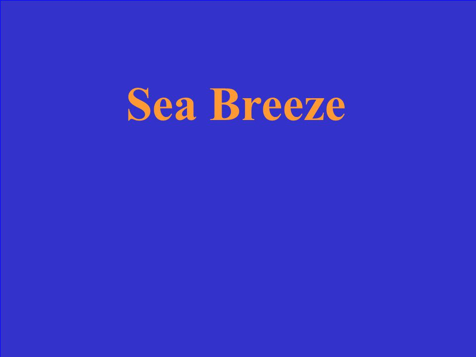 Sea breeze or land breeze