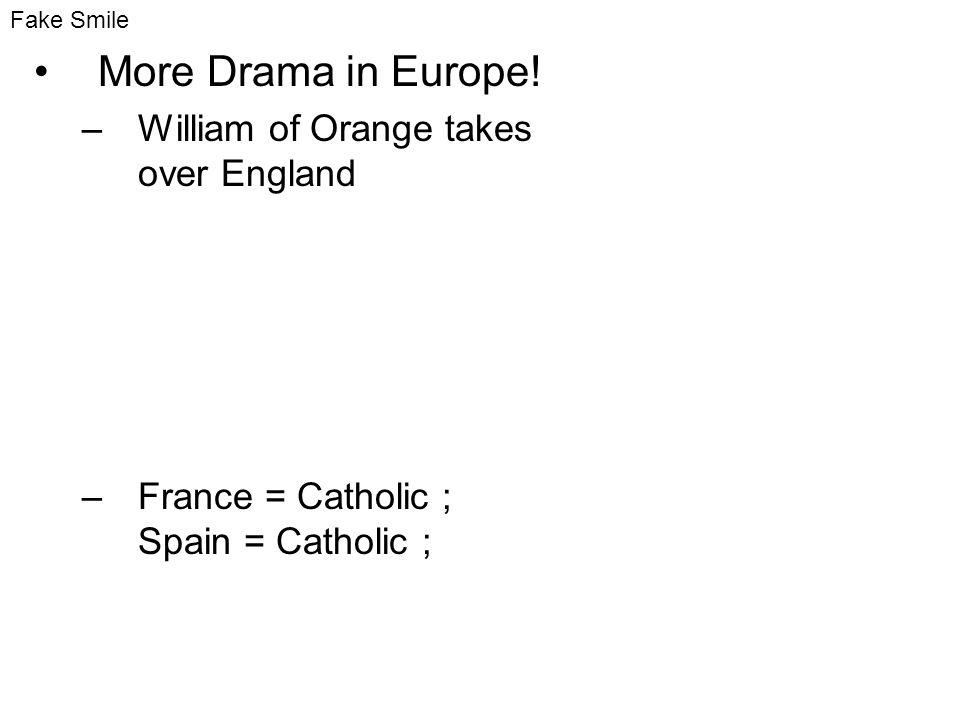 More Drama in Europe.