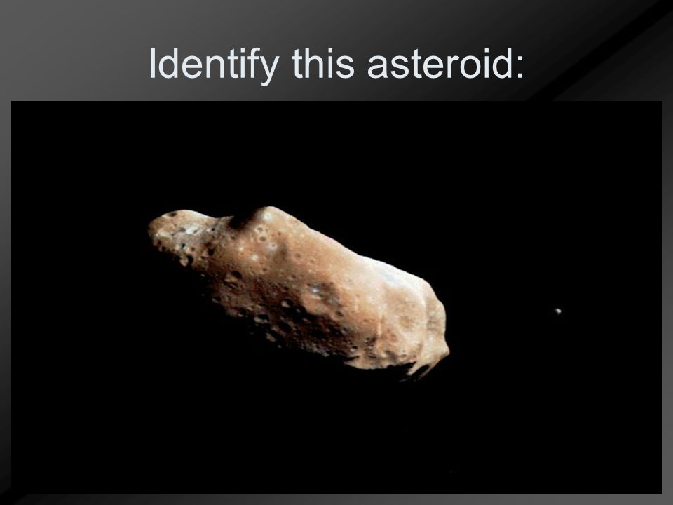 Identify this asteroid: