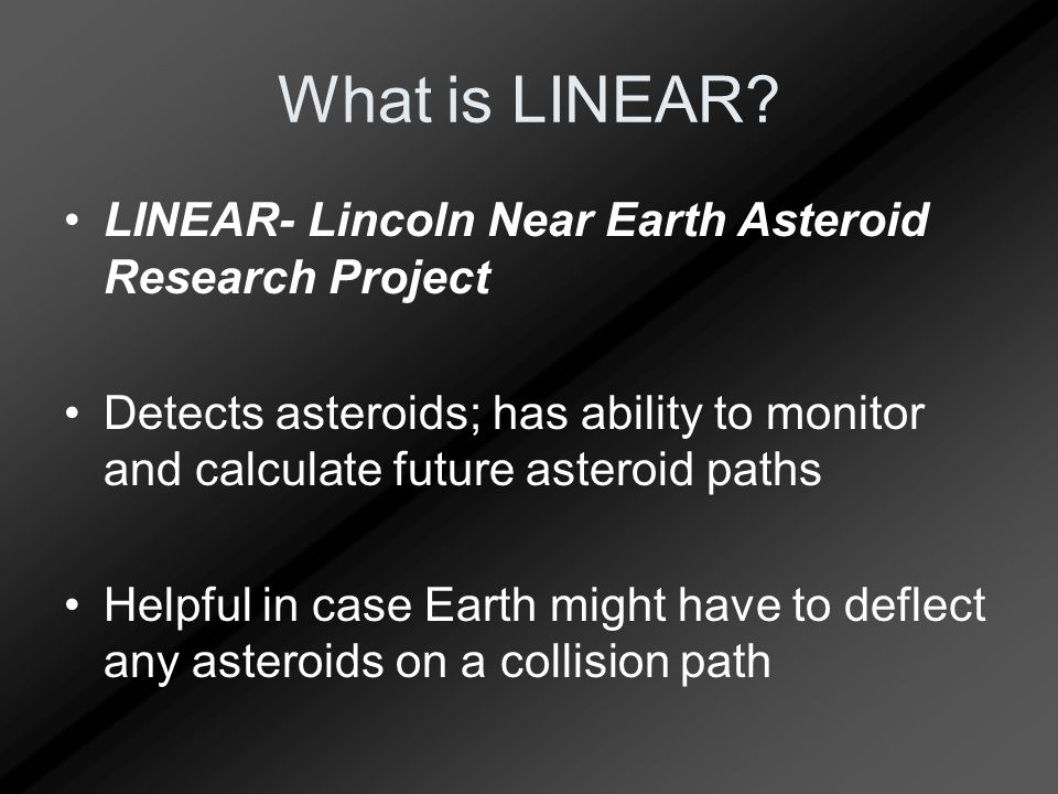 What is LINEAR.