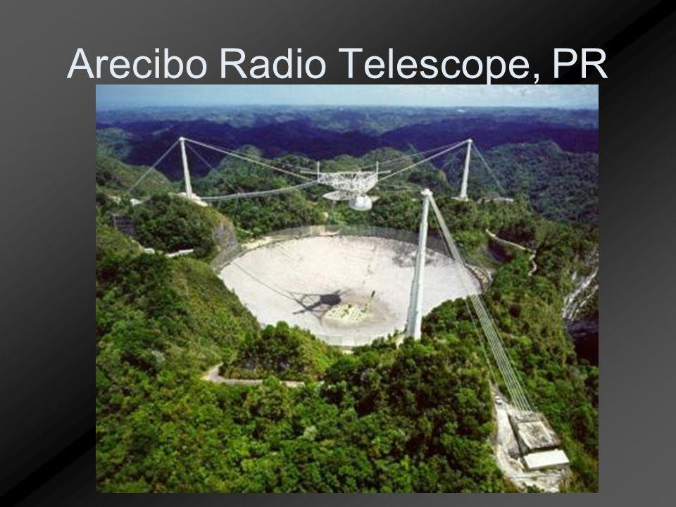 Arecibo Radio Telescope, PR