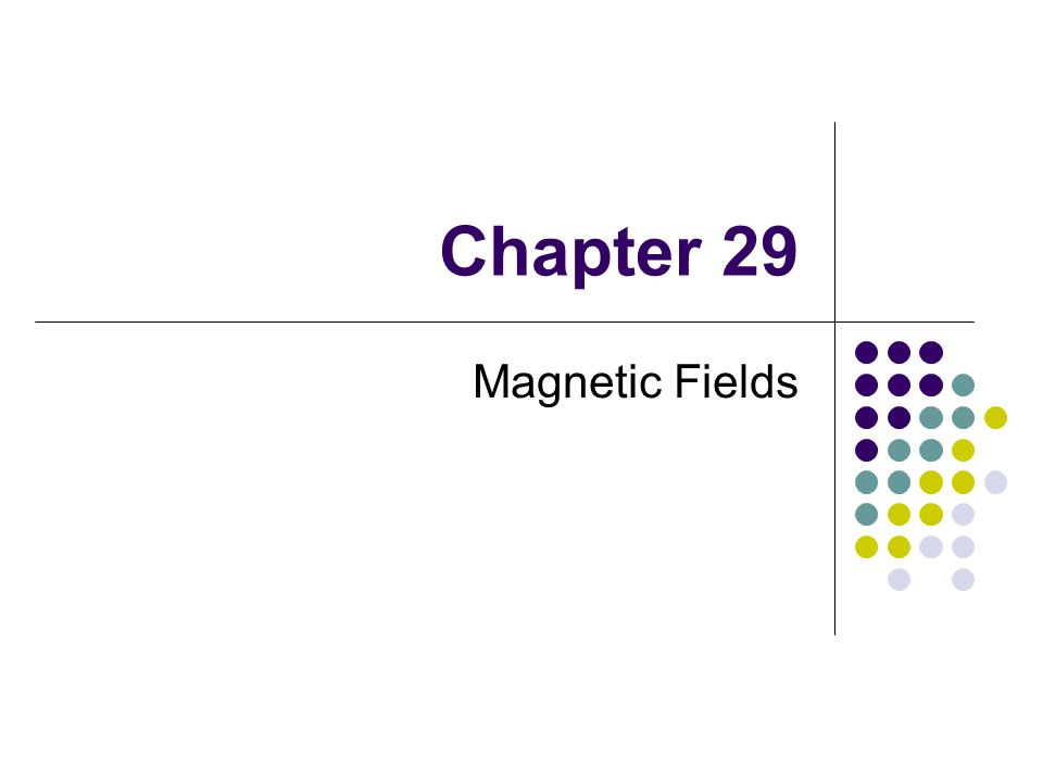 Magnetic Field Lines, Bar Magnet Example The compass can be used to trace the field lines The lines outside the magnet point from the North pole to the South pole Use the active figure to trace the field lines