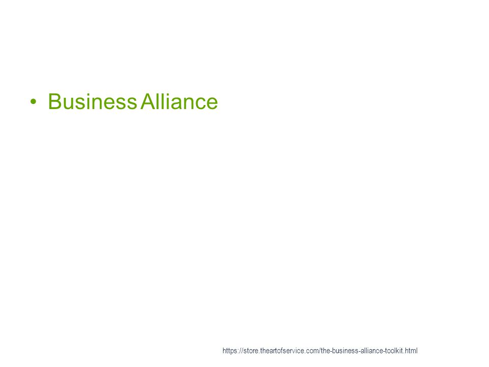Business Alliance https://store.theartofservice.com/the-business-alliance-toolkit.html