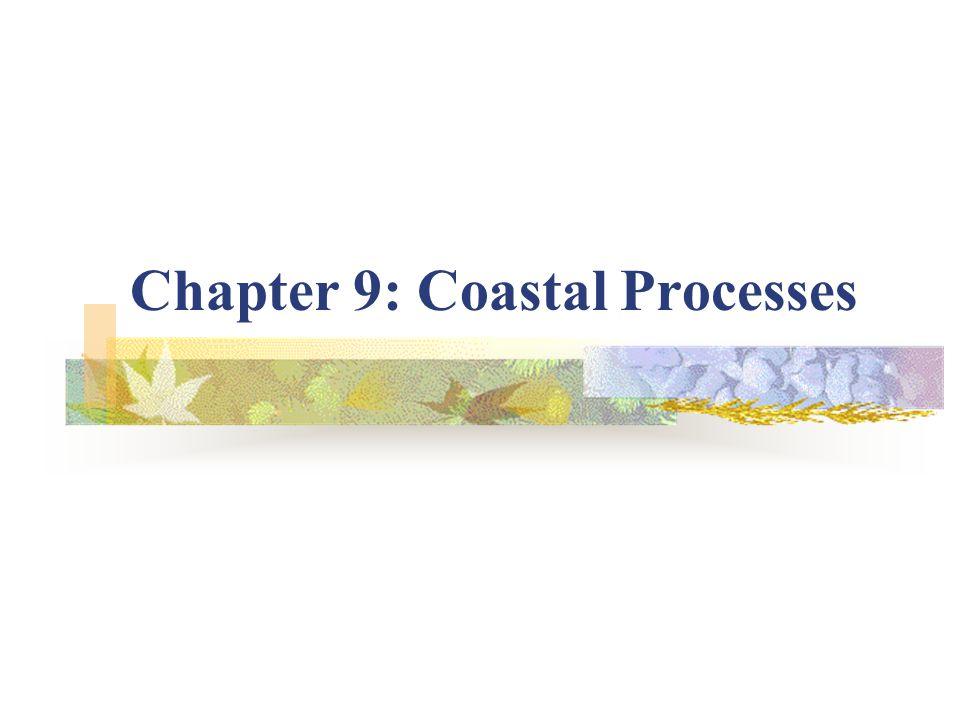 Chapter 9: Coastal Processes